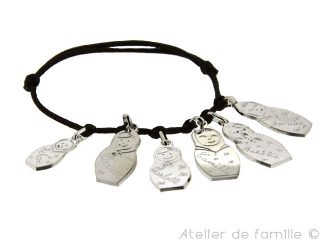 un bracelet personnalise pour noel atelier de famille cr ateur de bijoux. Black Bedroom Furniture Sets. Home Design Ideas