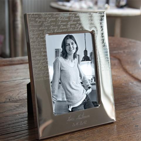 Cadre photo à graver - Atelier de Famille