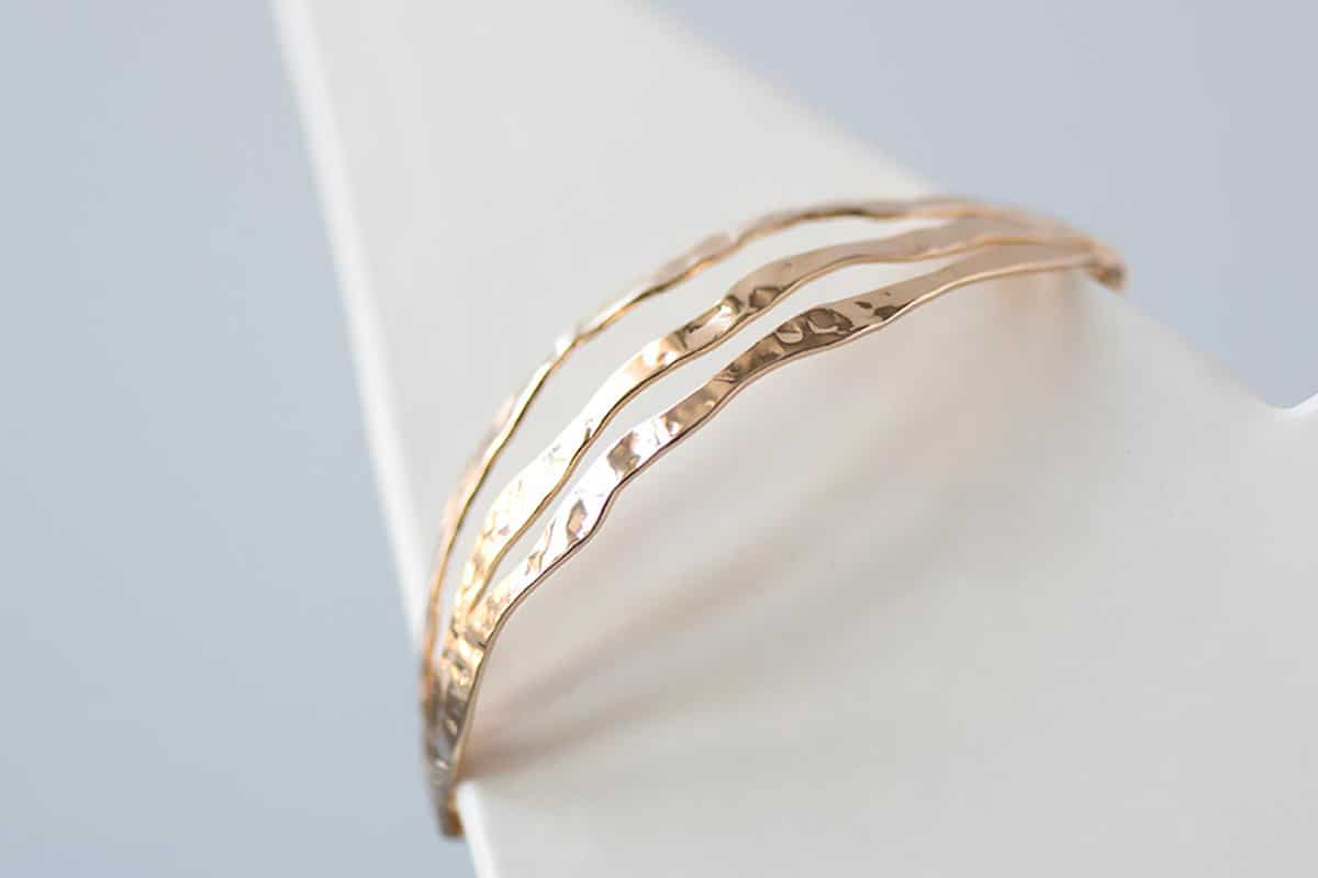 Bracelet jonc cassiopee Atelier de Famille