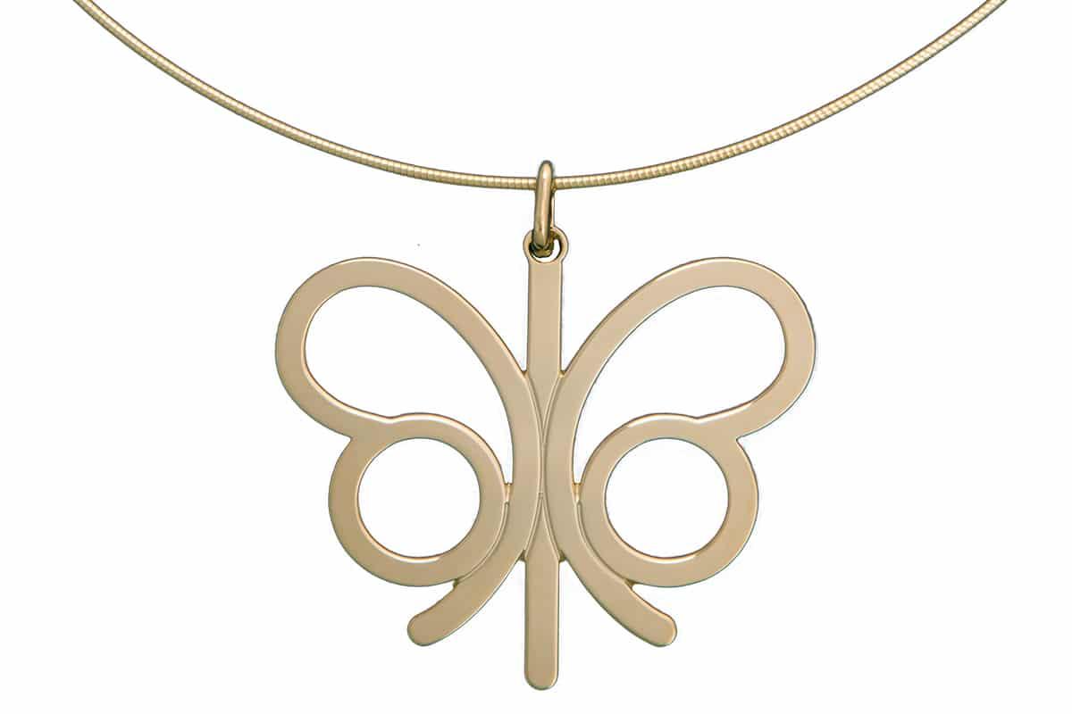 Collier papillon Atelier de Famille