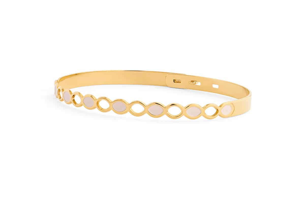 Bracelet émaillé - Atelier de Famille