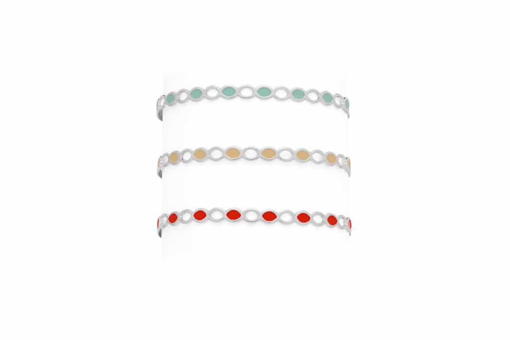 Gamme bracelets émaillés - Atelier de Famille
