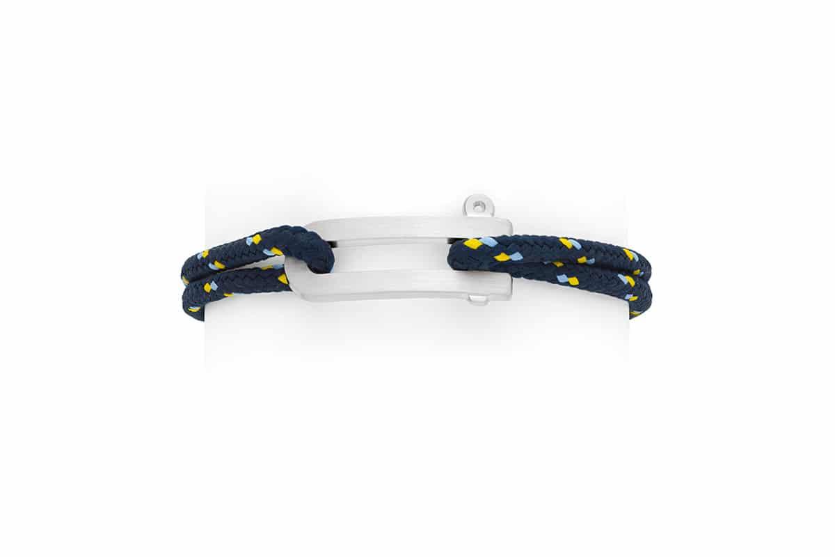 Bracelet manille cordage bateau Atelier de Famille
