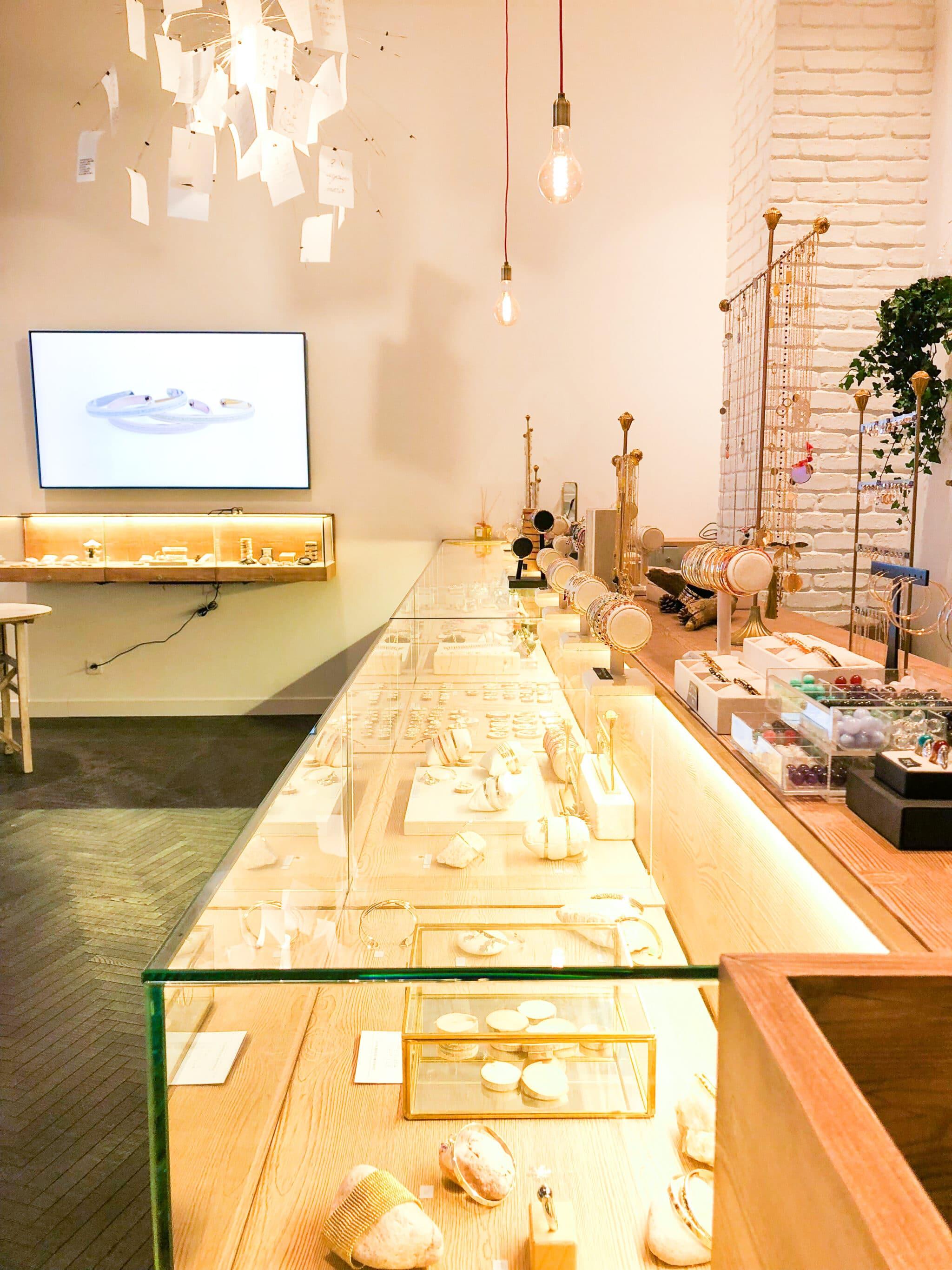 boutiques bijoux parly 2