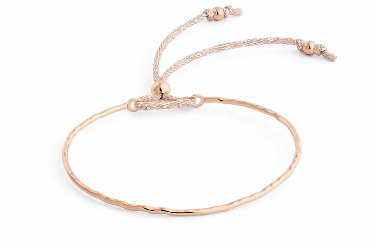 Bracelet jonc fin paillette Atelier de Famille