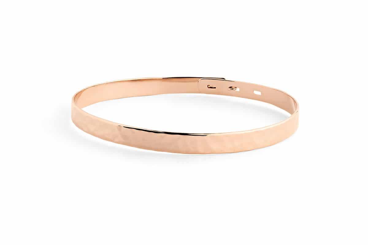 Bracelet jonc martele Atelier de Famille