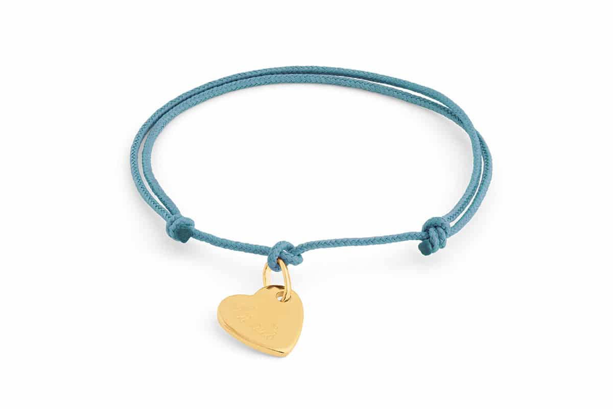 Bracelet mini coeur Atelier de Famille