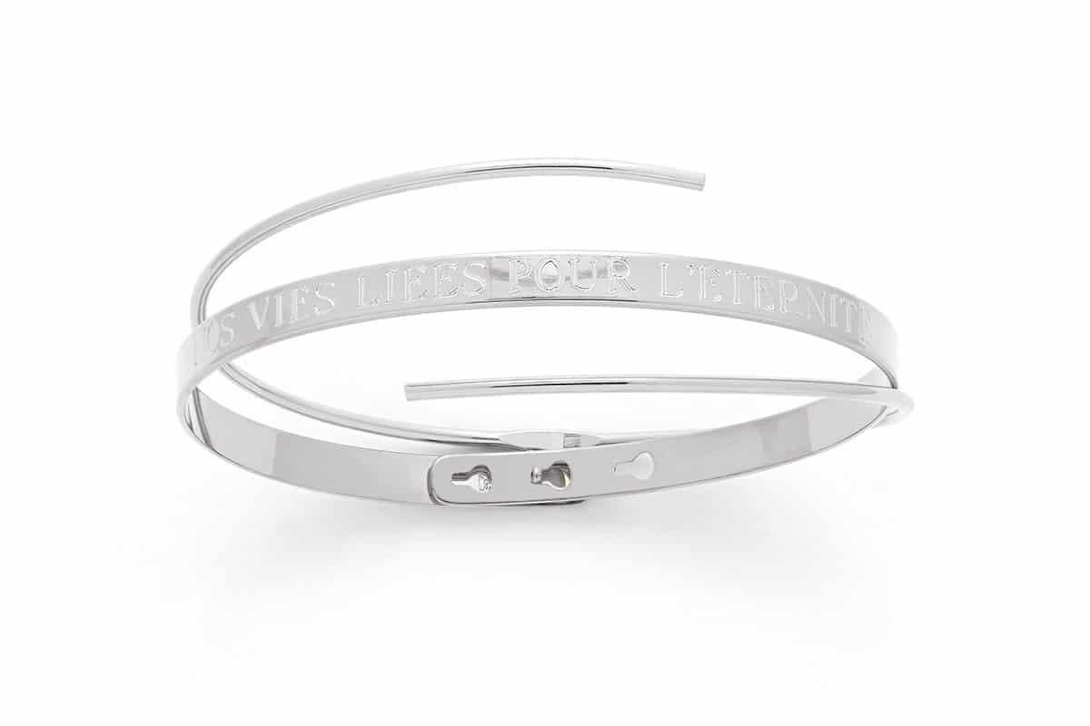 Bracelet jonc duo Atelier de Famille