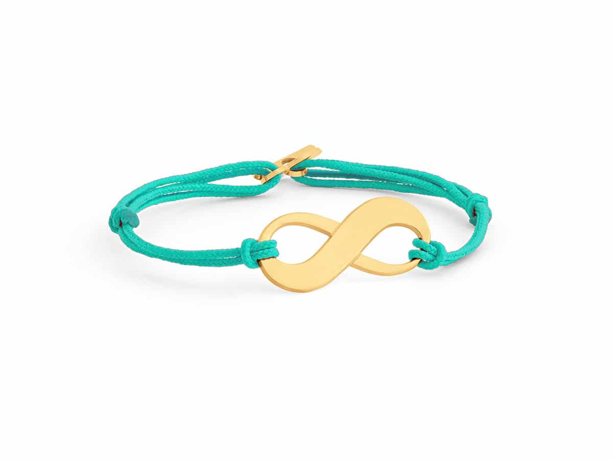 Bracelet infini cordon Atelier de Famille