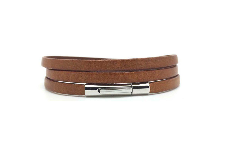 Bracelet cuir triple Atelier de Famille