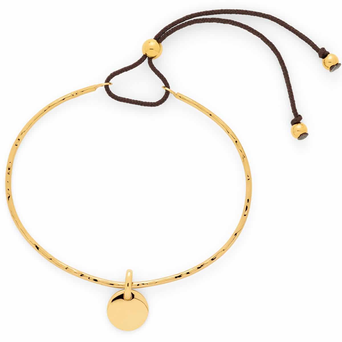 Bracelet jonc fin mini breloque Atelier de Famille