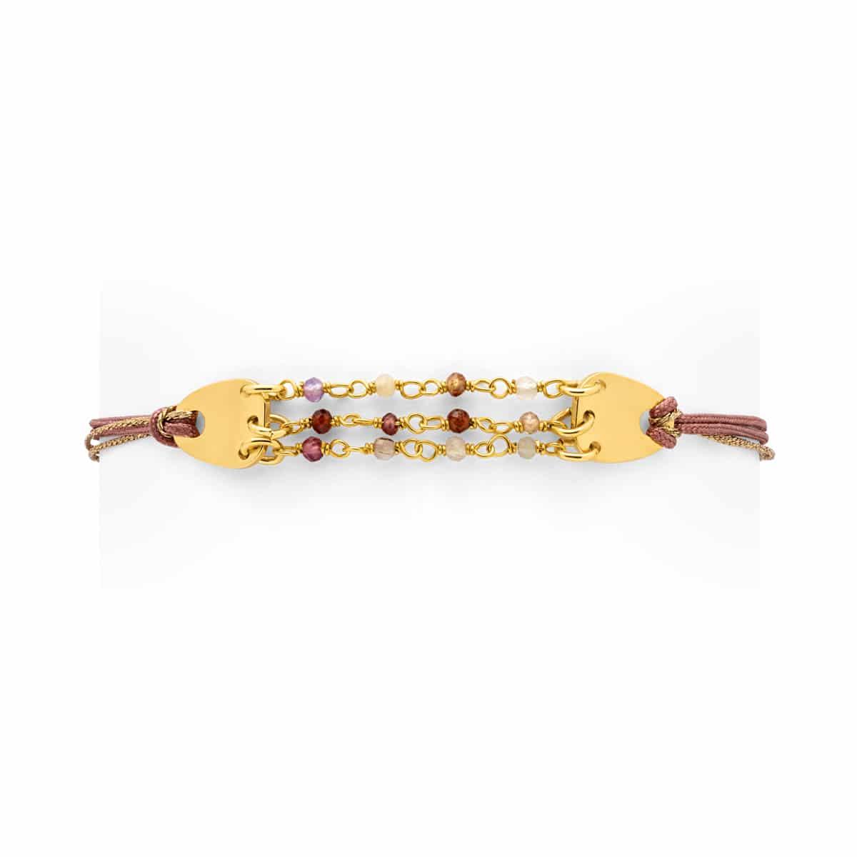Bracelet Eos pierres fines Atelier de Famille