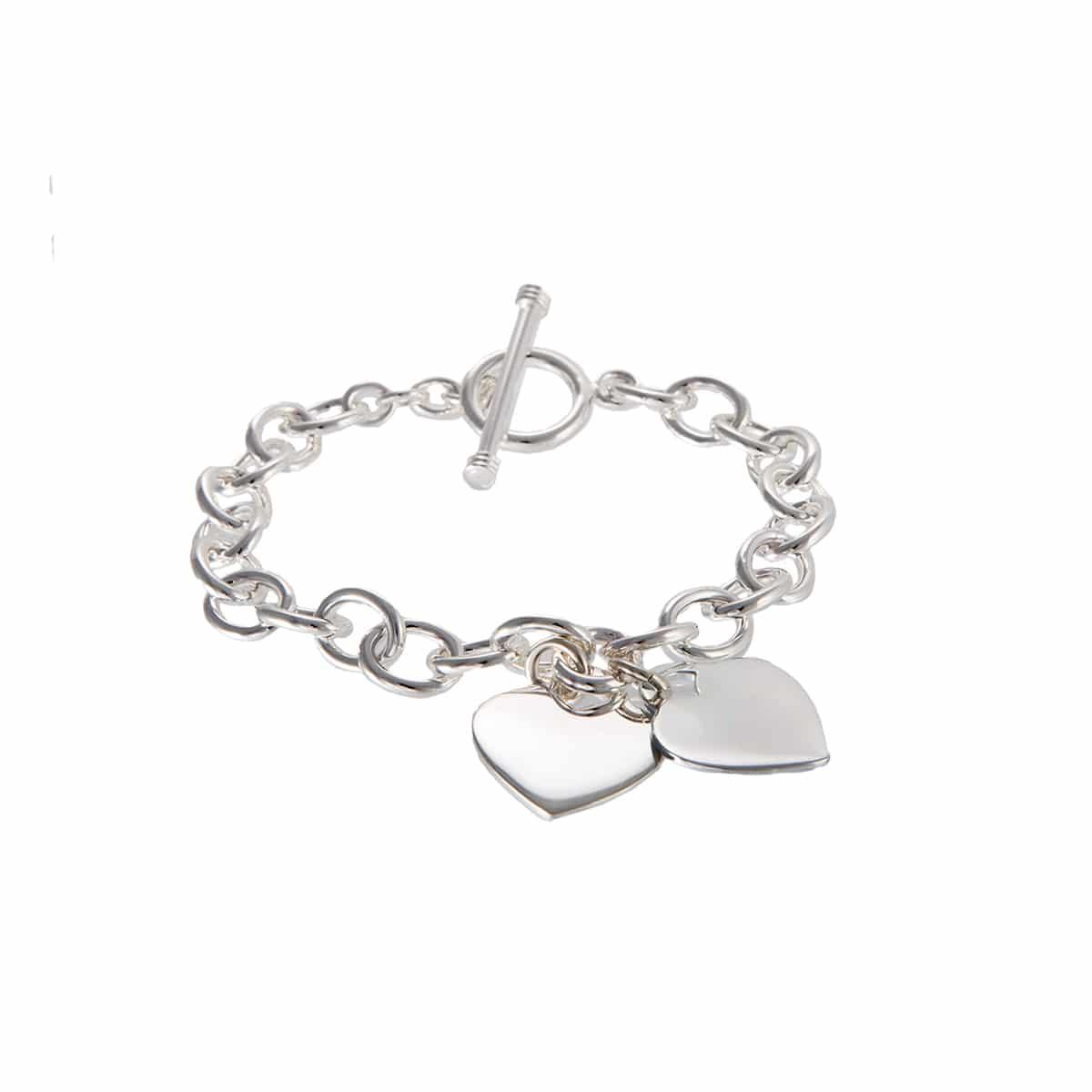 Bracelet chaine coeur Atelier de Famille