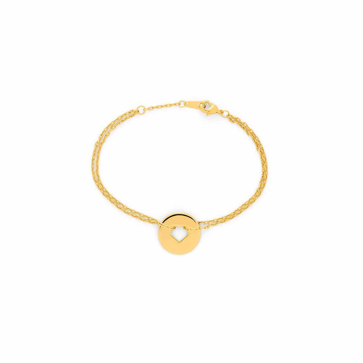 Bracelet petit coeur Atelier de Famille
