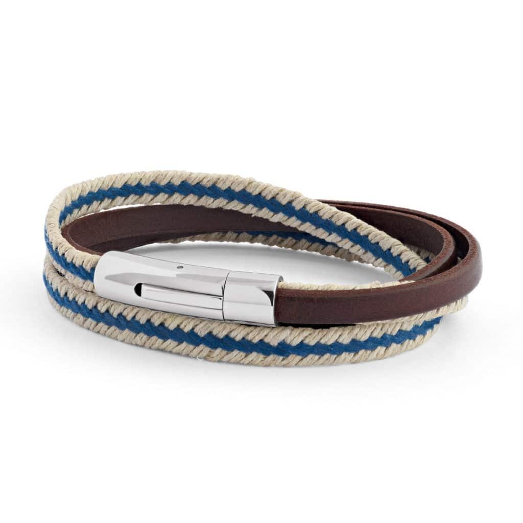 bracelet_nautic_bleu homme_Atelier de Famille