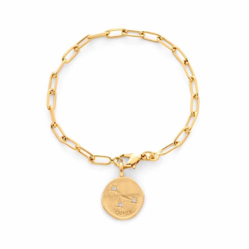 Bracelet astrologique chaine maillon ovale - Atelier de Famille