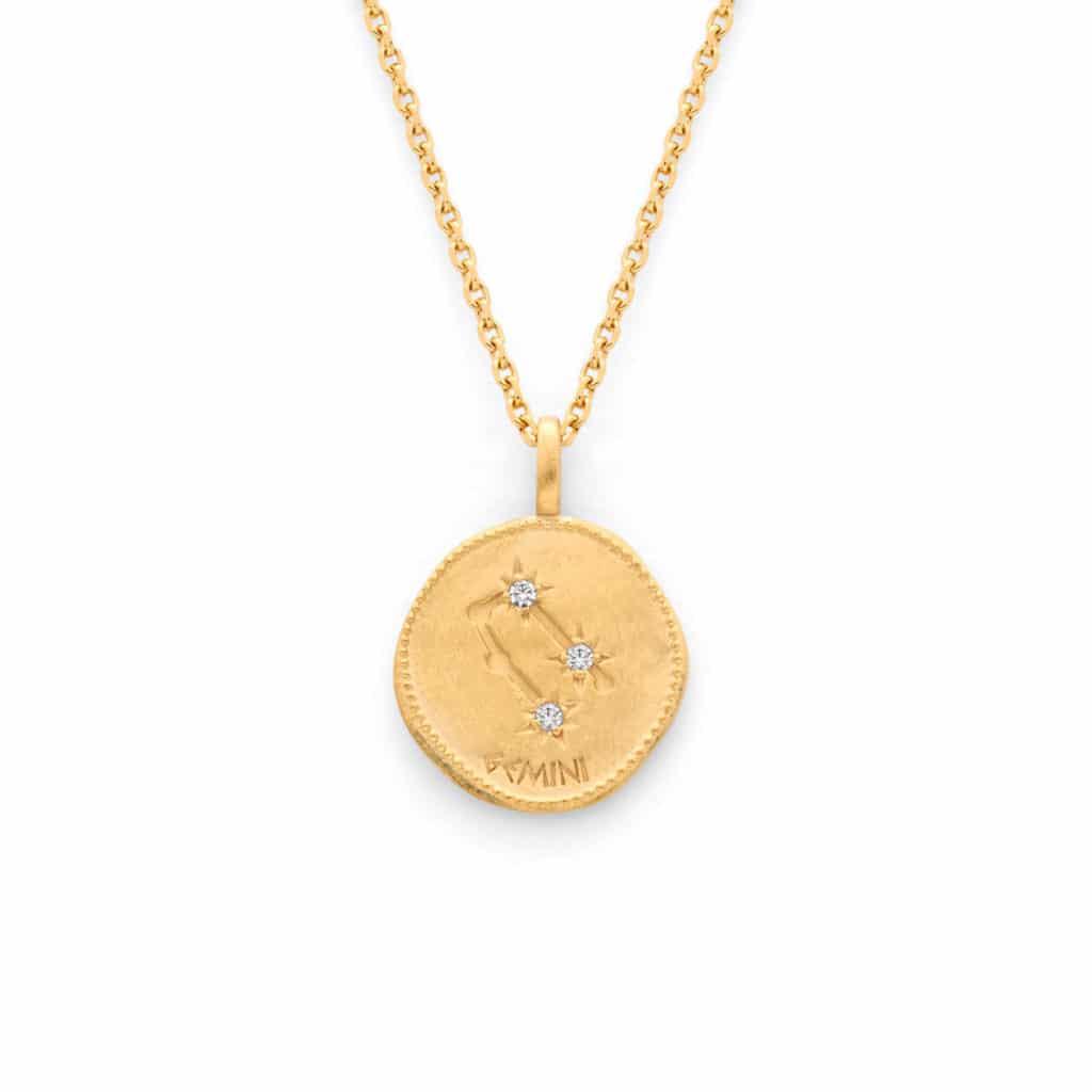 Medailles astrologiques chaine forcat - Atelier de Famille
