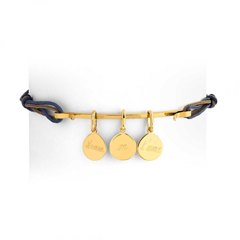 Bracelet Maman Personnalisé - Bracelet Maman Gravé - Fête des Mères 2020 Atelier de Famille