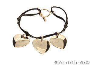 Bijou Femme tendance, bracelet pour femme en cuir - ADF