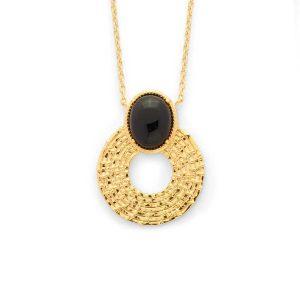 Idée de cadeau pour noël : un collier femme plaqué or
