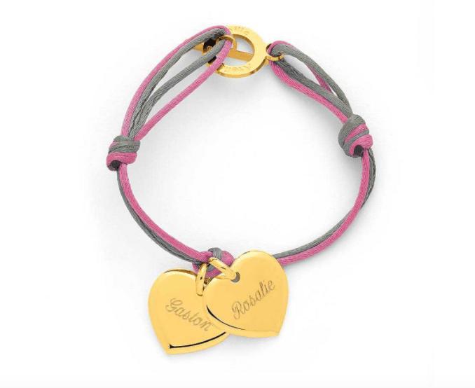 Les bracelets prénom tendances, des cadeaux personnalisés originaux